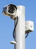 安全监控相机 免版税图库摄影