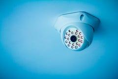 安全监控相机 图库摄影