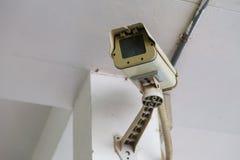 安全监控相机CCTV 库存图片