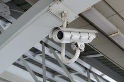 安全监控相机CCTV 图库摄影