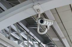 安全监控相机CCTV 免版税库存照片