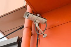 安全监控相机CCTV 免版税图库摄影