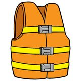 水安全背心 库存图片