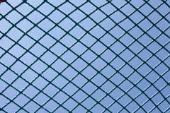 安全蓝色网 免版税库存照片