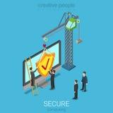 安全计算技术平的等量传染媒介3d