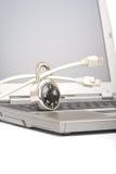 安全连接数的互联网 免版税库存照片