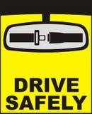 安全驱动向量 免版税库存图片