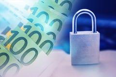 安全付款技术 免版税库存图片