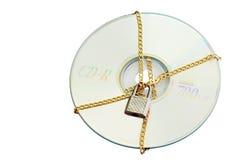 安全CD的数据 图库摄影
