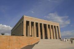 安卡拉,土耳其:阿塔图尔克,穆斯塔法凯末尔阿塔图尔克陵墓  库存照片
