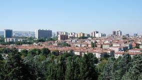 安卡拉bahcelievler都市风景地区 免版税库存照片
