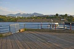 安吉利斯港小游艇船坞 免版税库存照片