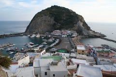安吉洛坐骨海岛sant的意大利 免版税库存照片