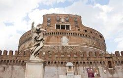 安吉洛城堡意大利罗马st 库存照片