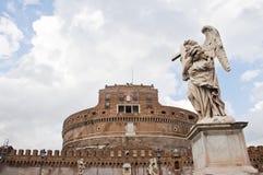 安吉洛城堡罗马st 库存照片