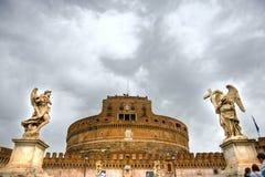 安吉洛castel sant的罗马 免版税图库摄影
