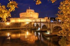 安吉洛castel意大利sant的罗马 库存图片