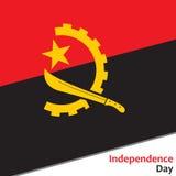 安哥拉美国独立日 免版税库存图片