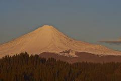 安图科火山火山在拉古纳de Laja国家公园,智利 库存照片