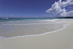 安圭拉海滩 库存图片
