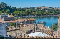 安圭拉萨巴齐亚,罗马省,拉齐奥意大利 免版税图库摄影