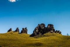安地斯山的风景南美洲 库存图片