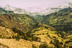 安地斯山的风景南美洲 免版税库存图片