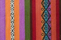 安地斯山的织布机 免版税库存照片