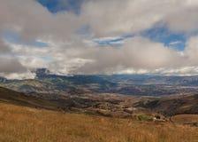 安地斯山,南美洲,厄瓜多尔 免版税库存图片