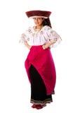安地斯美丽的女孩印地安人 库存图片