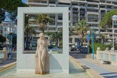 安地比斯法国 免版税库存图片