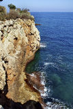 安地比斯海岸 免版税库存图片