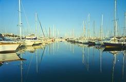 安地比斯端口 免版税库存图片