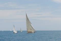 安地比斯赛跑船 免版税图库摄影