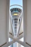 安塔利亚商展观测塔 免版税图库摄影