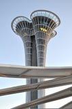 安塔利亚商展观测塔 免版税库存图片