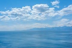 安塔利亚海岸线 免版税库存图片