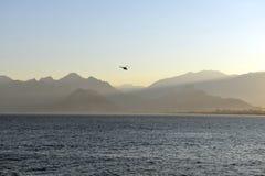 安塔利亚,土耳其海岸 库存图片