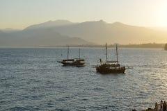安塔利亚,土耳其海岸 库存照片