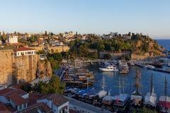 安塔利亚,土耳其港  免版税库存照片