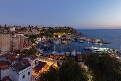 安塔利亚,土耳其港  库存图片