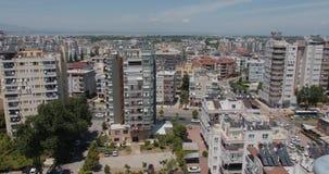 安塔利亚,土耳其顶视图拥挤  影视素材
