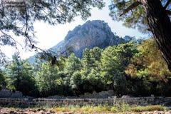 安塔利亚,山的看法 库存图片