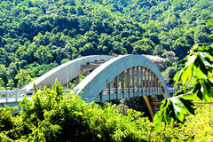 安塔斯河桥梁 图库摄影