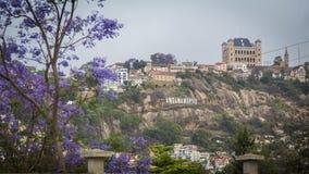 安塔那那利佛地标都市风景 免版税库存图片