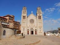 安塔那那利佛,与大教堂Andohalo的教会正方形 免版税库存图片