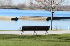 安大略湖在多伦多 库存图片