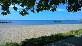 安大略湖视图 免版税图库摄影
