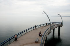 安大略湖-伯灵屯-加拿大 免版税库存图片