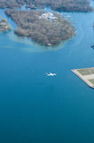 安大略湖  库存图片
